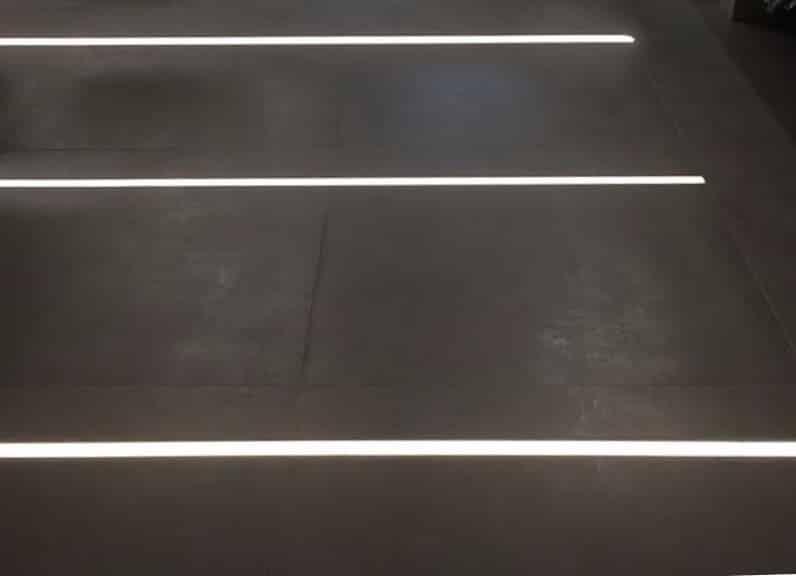 Lichtlinie Außenbereich