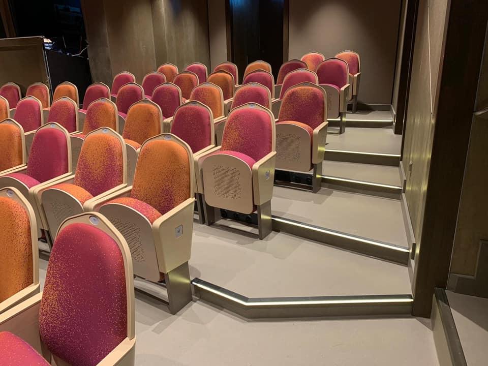 Stufenprofile im Theater