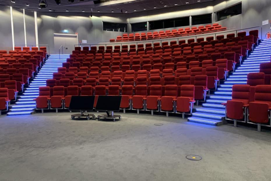 Stufenbeleuchtung-Auditorium