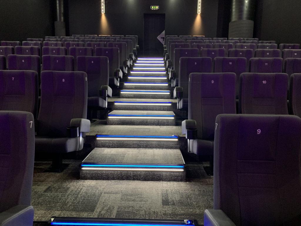 Kino-Stufenbeleuchtung
