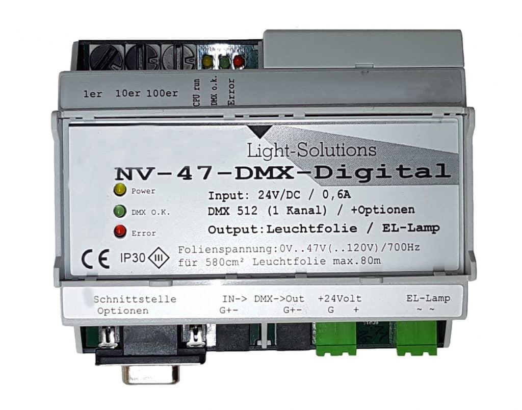 NV47 Inverter für Leuchtschnur und Folie