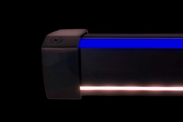 Treppenkantenprofil mit LED Beleuchtung